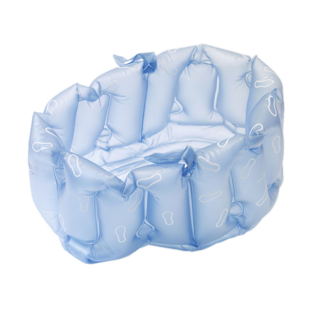 Bosign | Inflatable Foot Bath Dark Blue | Blow Up Foot Bath