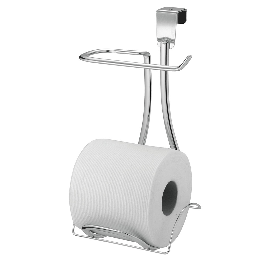 Interdesign Axis Chrome Over Tank Toilet Roll Holder Plus Homearama