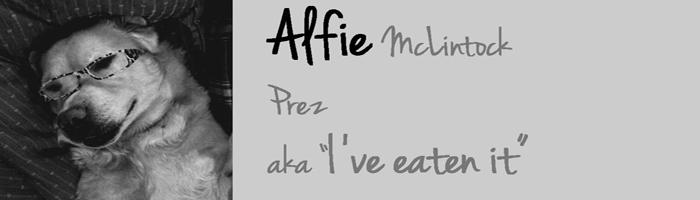 Alfie McLintock Prez